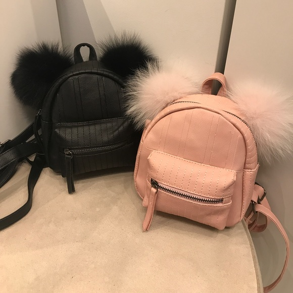 Other - Small fur ear :) backpack.